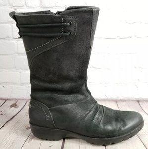 Merrell Vera Black Mid Calf Boots